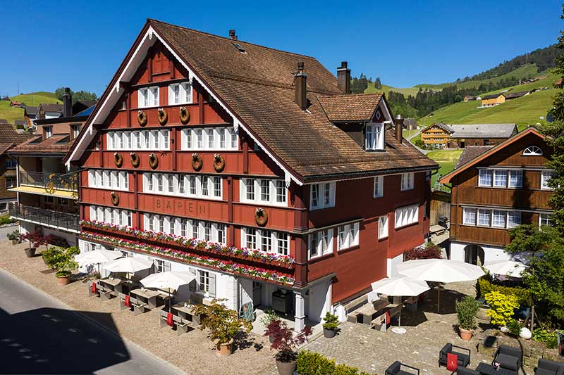 Boutique Hotel Bären Gonten - Biken im Appenzellerland