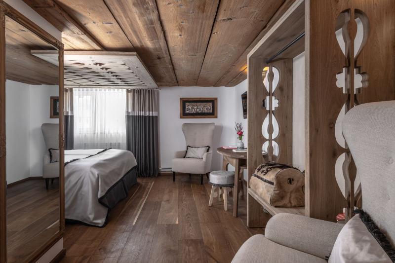 Biken im Appenzellerland - Boutique Hotel Bären Gonten, Doppelzimmer originell