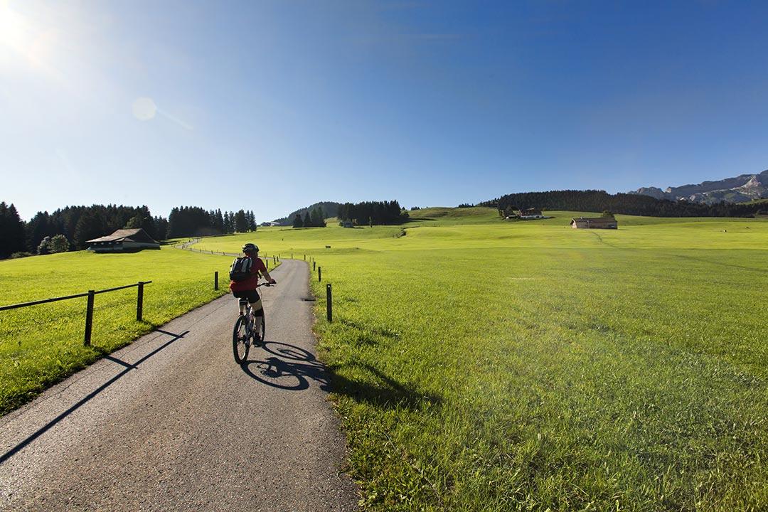 Biken im Appenzellerland